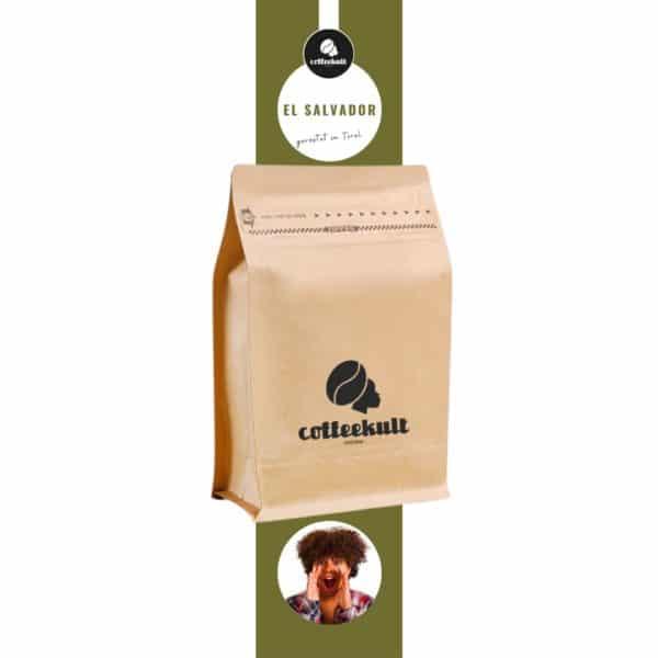 coffeekult kaffeerösterei innsbruck elsalvador kaffeebohnen arabica