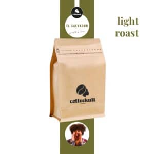 coffeekult kaffeerösterei innsbruck elsalvador light roast kaffeebohnen arabica