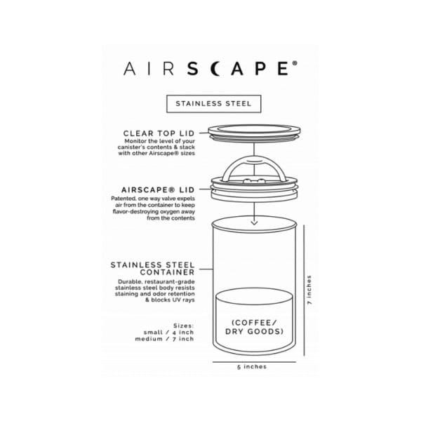 coffeekult kaffeerösterei tirol frischgeröstet kaffeezubehör kaffeedose airscape