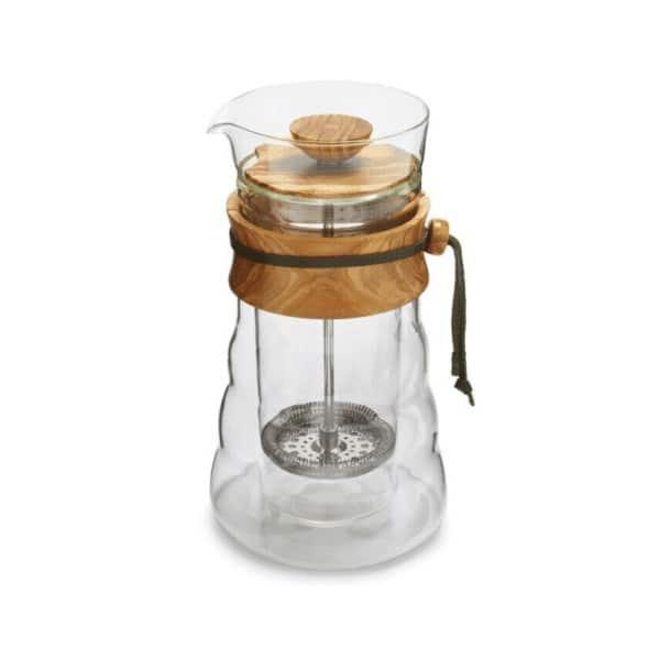 coffeekult kaffeerösterei tirol frischgeröstet kaffeezubehör Coffee-Press-wood-3-600x600