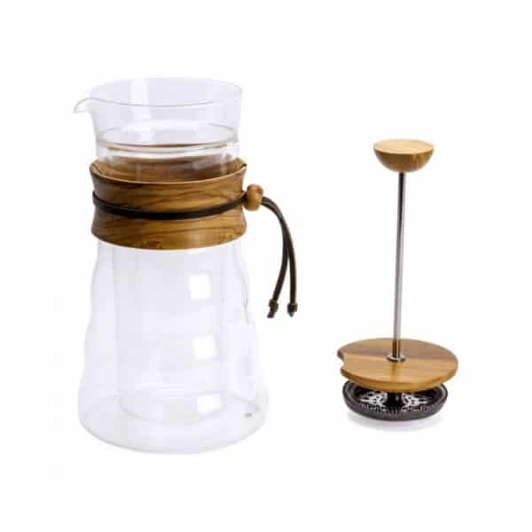 coffeekult kaffeerösterei tirol frischgeröstet kaffeezubehör Coffee-Press-wood4