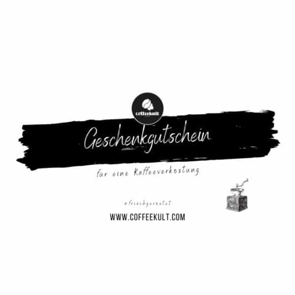 Geschenkgutschein Kaffeeverkostung tirol
