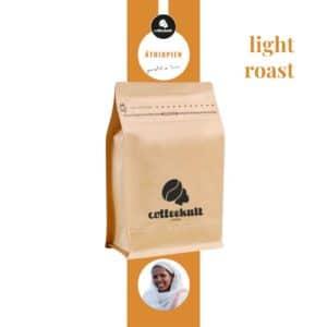coffeekult kaffeerösterei innsbruck äthiopien kaffeebohnen arabica light roast