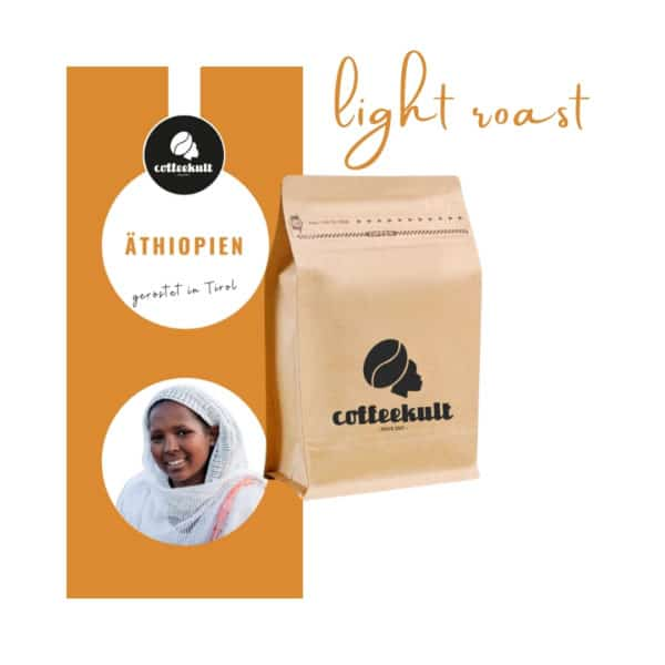 coffeekult kaffeerösterei innsbruck kaffeebohnen arabica äthiopien light roast