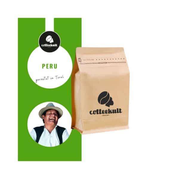 coffeekult kaffeerösterei innsbruck kaffeebohnen arabica peru