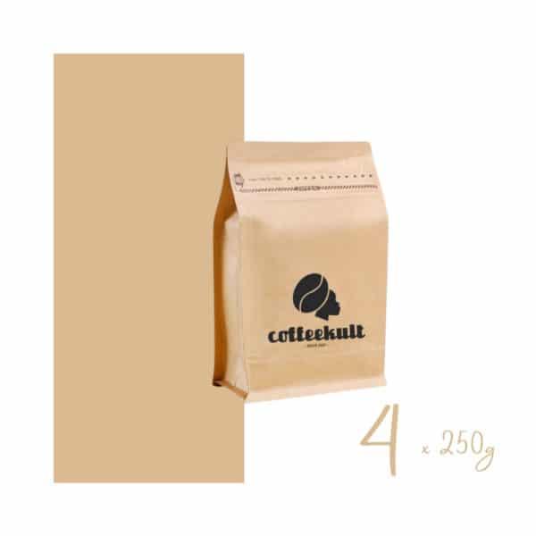 coffeekult kaffeerösterei innsbruck kaffeebohnen arabica probierpaket 4