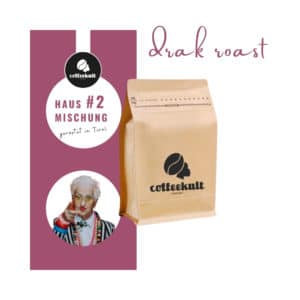 coffeekult kaffeerösterei innsbruck kaffeebohnen arabica robusta kaffeemischung blend italien