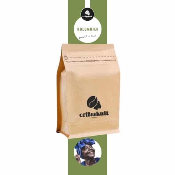 coffeekult kaffeerösterei innsbruck kolumbien kaffeebohnen arabica tirol