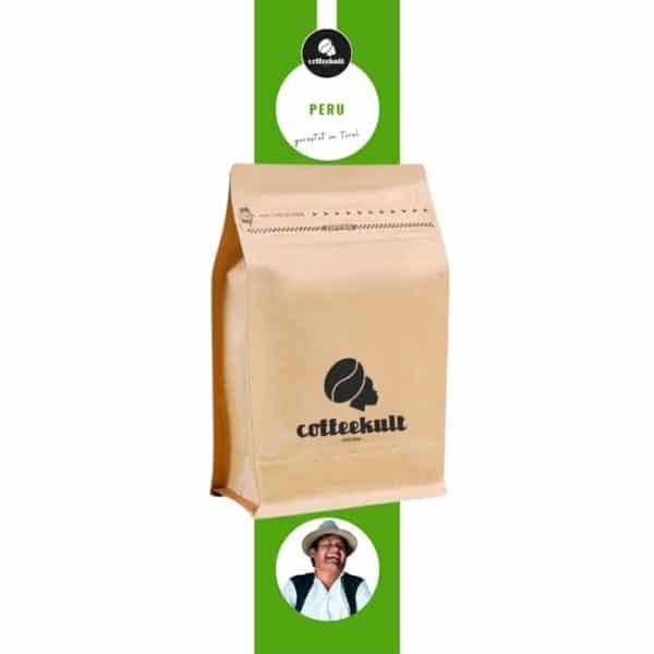 coffeekult kaffeerösterei innsbruck peru kaffeebohnen arabica bio fair gehandelt