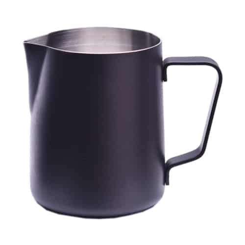 coffeekult kaffeerösterei tirol frischgeröstet kaffeezubehör milchkaennchen-350ml-mit-pulverbeschichtung-black