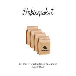 coffeekult kaffeerösterei tirol frischgeröstet kaffeezubehör probier paket röstkaffee