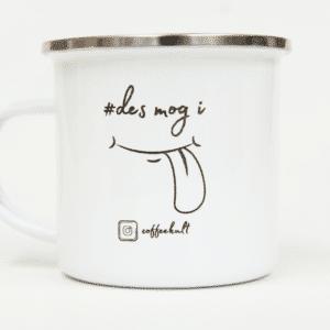 coffeekult tasse kaffee desmogi emaille 2020