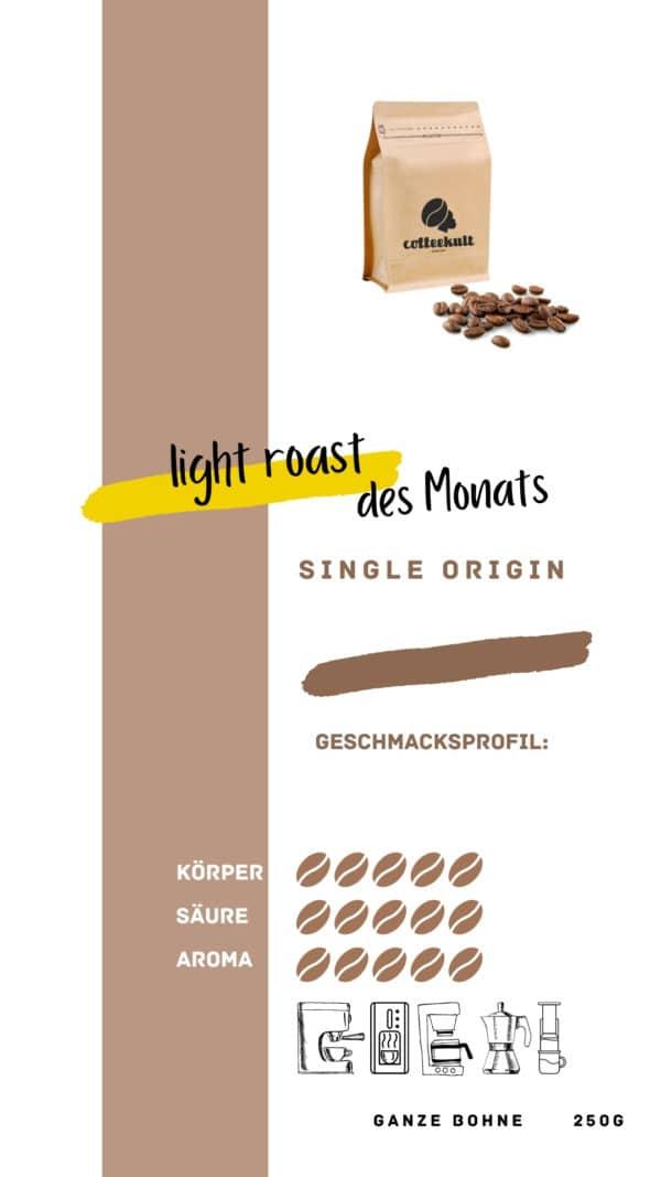 coffeekult coffee frisch geröstet barista kaffeerösterei innsbruck arabica bohnen light roast