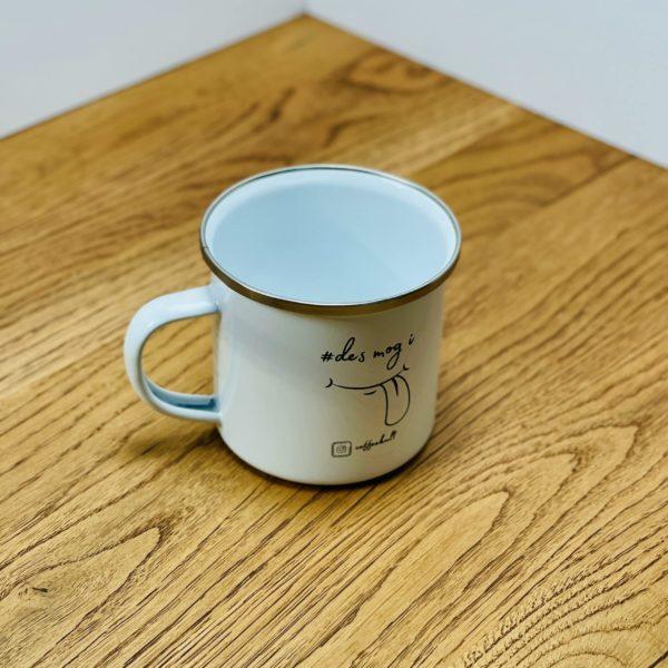 coffeekult emaille becher