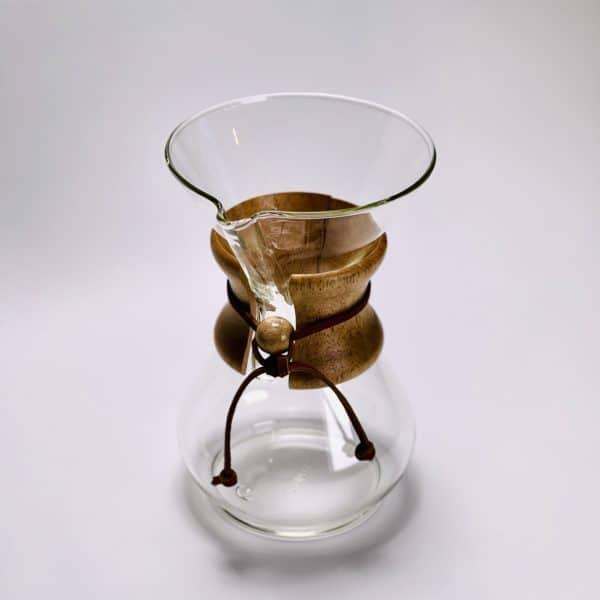 coffeekult frisch geröstet kaffee chemex 6 tassen oben