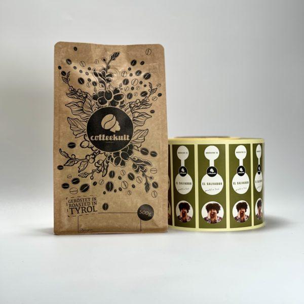 coffeekult frisch geröstet kaffee el salvador arabica