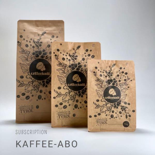 coffeekult kaffee abo kaffeebohnen frischgeröstet