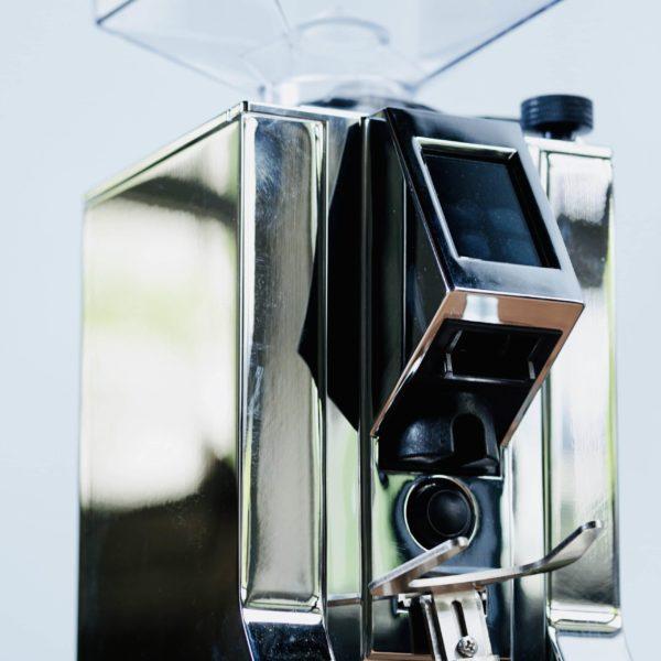 eureka kaffeemühle chrome