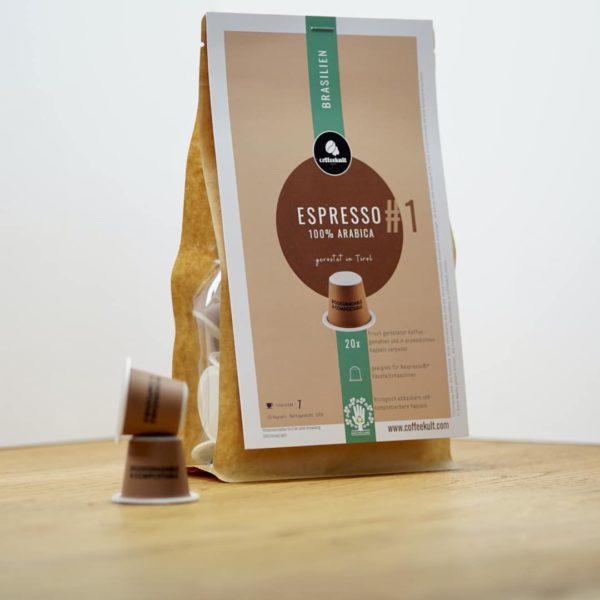coffeekult kapseln brasilien
